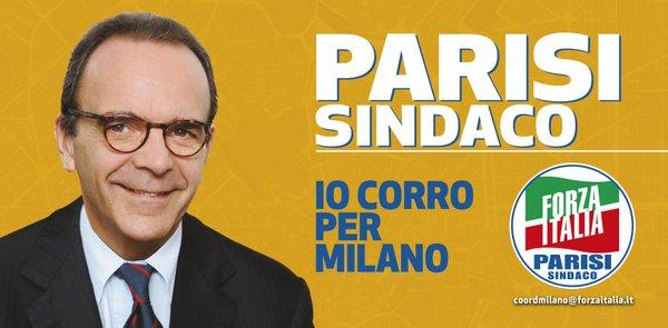 Parisi Sindaco - Io Corro per Milano - Forza Italia