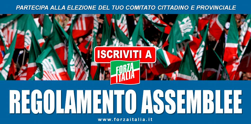 ISCRIVITI A FORZA ITALIA