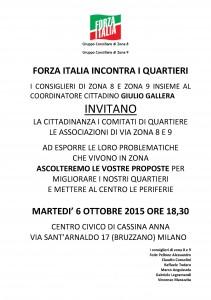 Obiettivo Milano 2016 ZONA 8 E 9