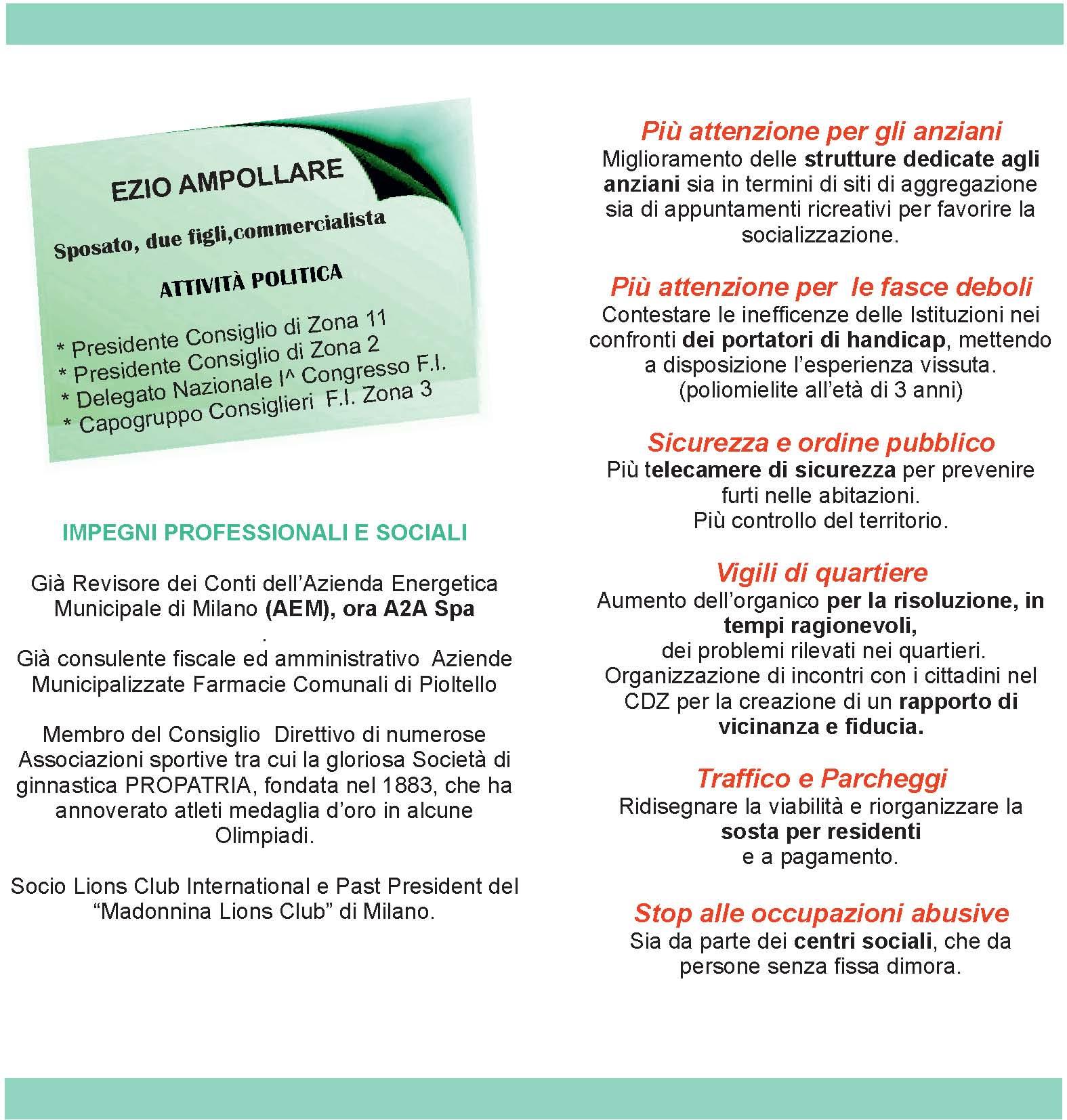 Club arcobaleno milano elezioni milano 2016 for Asclub volantino